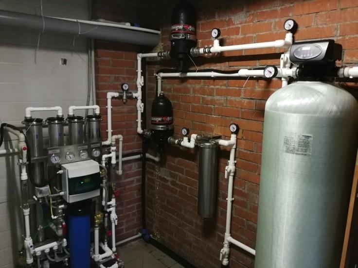 Система водоподготовки для антисептиков - 2