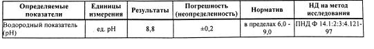 Анализ подготовленной воды для Судостроительного завода, г. Санкт-Петербург - 1