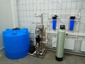 Система водоподготовки для парфюмерно-косметической компании - 1