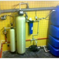 Система водоочистки в клубном поселке «Балаково»