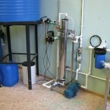 Система водоподготовки для предприятия по производству товаров бытовой химии, г. Гатчина - 1