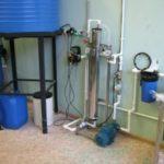 Водоподготовка на производстве товаров бытовой химии