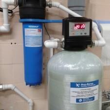 Система обезжелезивания воды для столовой Школы-интернат №37 - 2