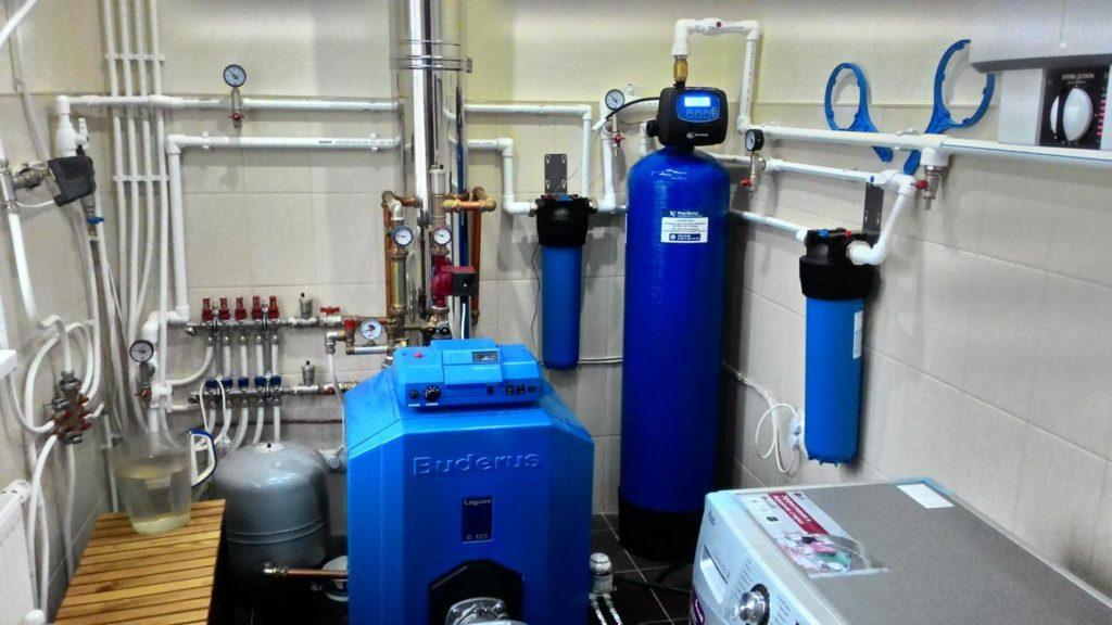Система очистки воды из колодца в п. Лесколово