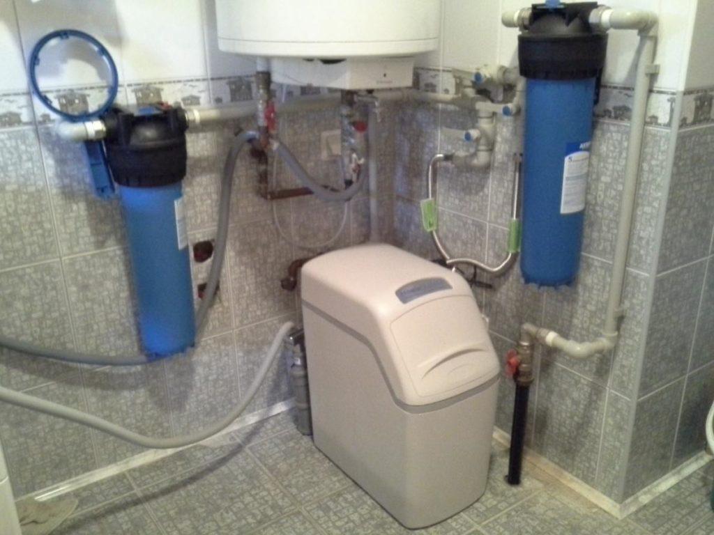 Система очистки водопроводной воды в п. Горы
