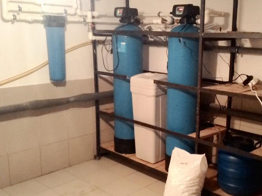 Система очистки воды из скважины в п. Касимово
