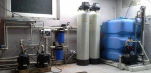 Система очистки водопроводной воды в г. Всеволожск