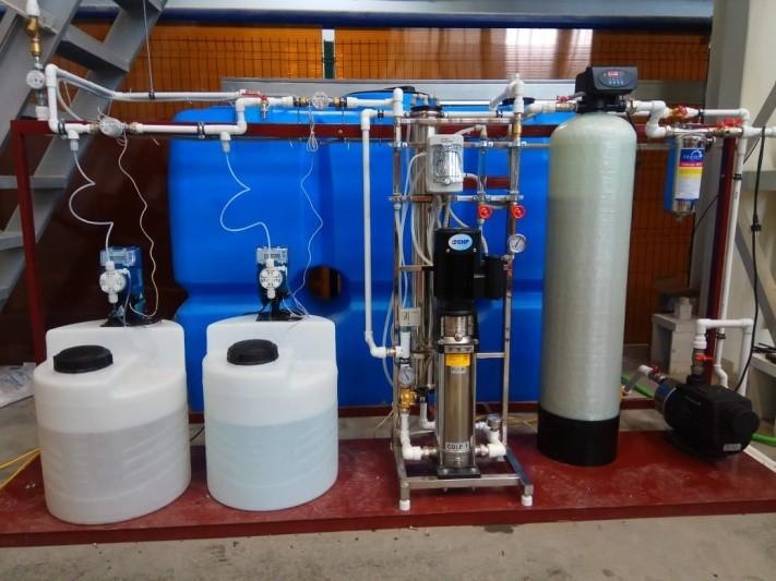Проект водоподготовки для станка гидроабразивной резки - 1