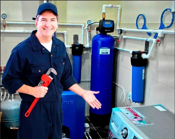 Монтаж и установка систем очистки воды