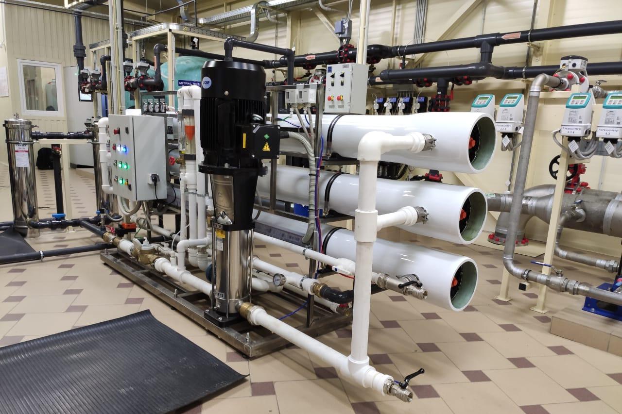 Водоподготовка для предприятий и производств